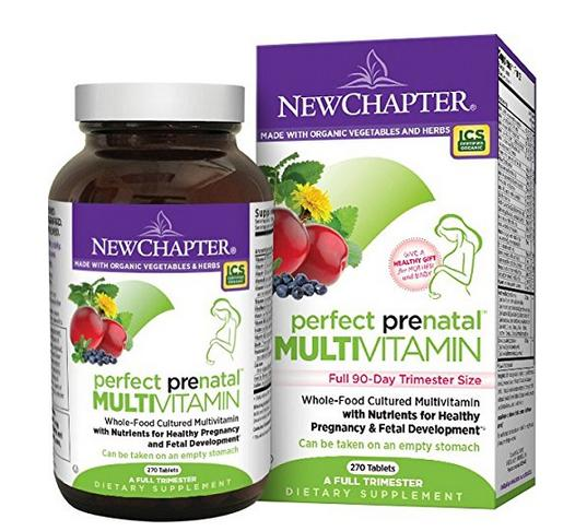 New Chapter Perfect Prenatal Vitamin 270 ct