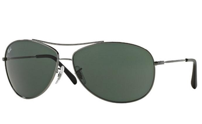 Ray-Ban 0RB3454L Aviator Sunglasses