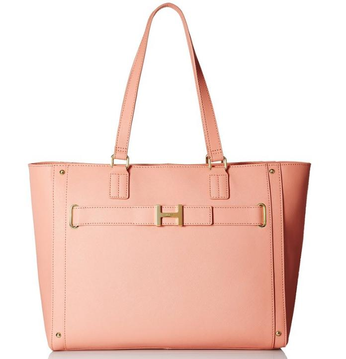 $69.30 Tommy Hilfiger TH Belted Tote Top-Handle Bag