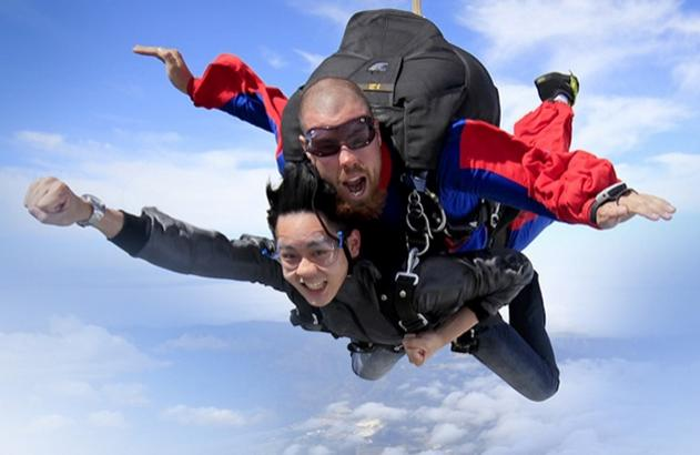 Extra 20% Off Skydiving Jump @ Groupon