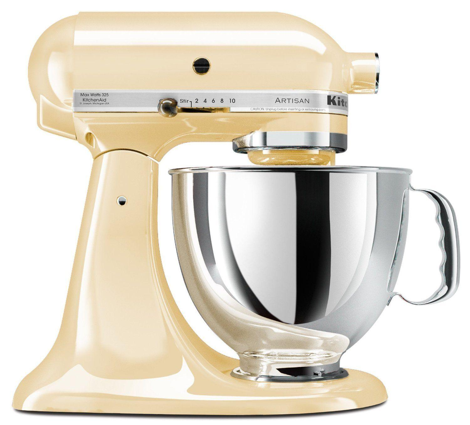 $184.99 KitchenAid KSM150PSSM Artisan 5 Qt. Stand Mixer (Manufacturer refurbished)