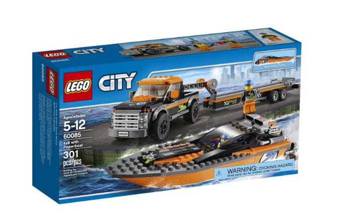 LEGO City Great Vehicles with Powerboat 60085