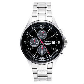 Lowest price! $65.99 Today only! Seiko Chronograph Men's Quartz Watch