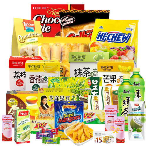 5/29-6/1 Preview:  Childhood Memory Snack Bag for $50 ($82 Value) Flash Sale Every 11am  - 11:59 PST