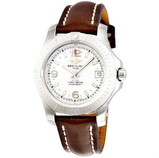 BREITLING Colt 36 Silver Dial Ladies Watches@JomaShop.com