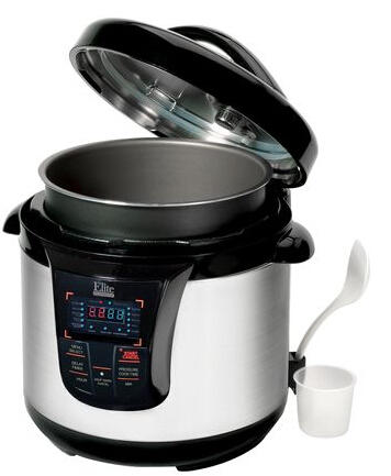 Refurbished Elite EPC-808 8-Quart Programmable Electric Pressure Cooker