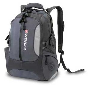 $27.31 Wenger SA1537 Grey Computer Backpack - Fits Most 15 Inch Laptops and Tablets