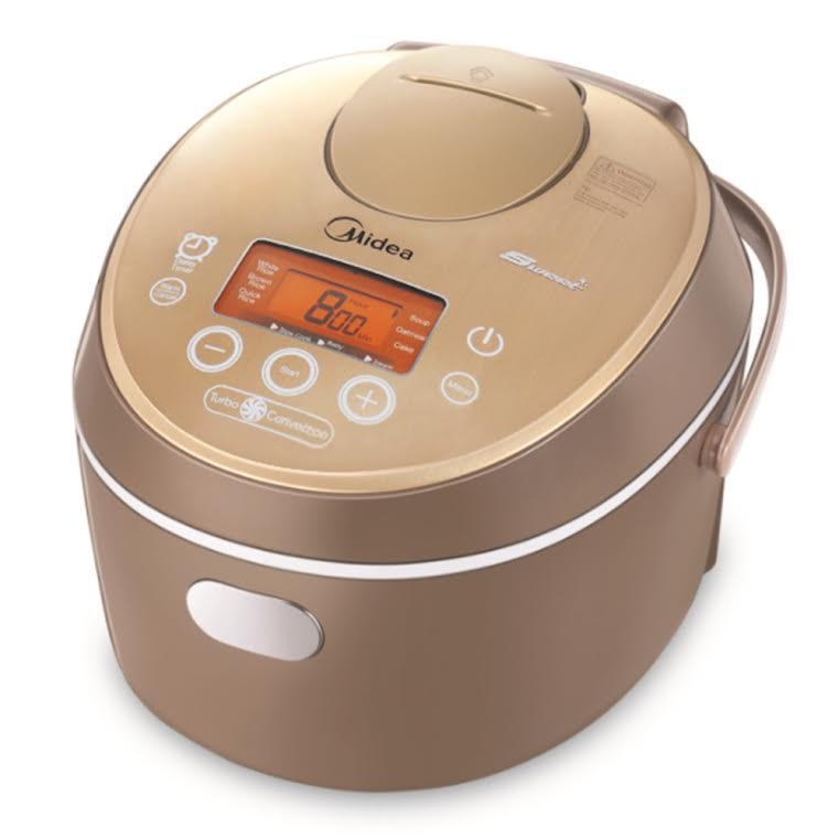 Midea MB-FC5020 Smart Multifunctional Rice cooker Slow Cooker Brown ,5Qt/860W