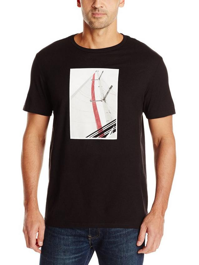 Nautica Men's Sailboat Graphic T-Shirt
