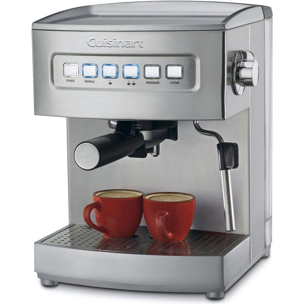 Cuisinart EM-200 Programmable 15-Bar Espresso Maker Stainless Steel