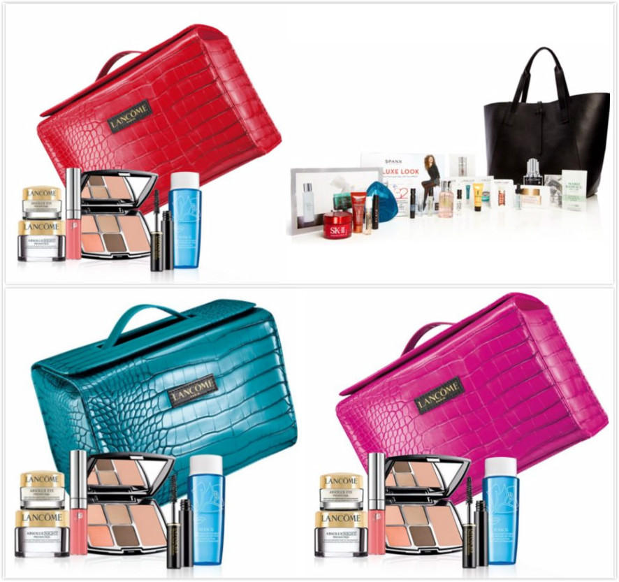 Free 9-pc Gift With Any $75 Lancome Purchase @ Saks Fifth Avenue