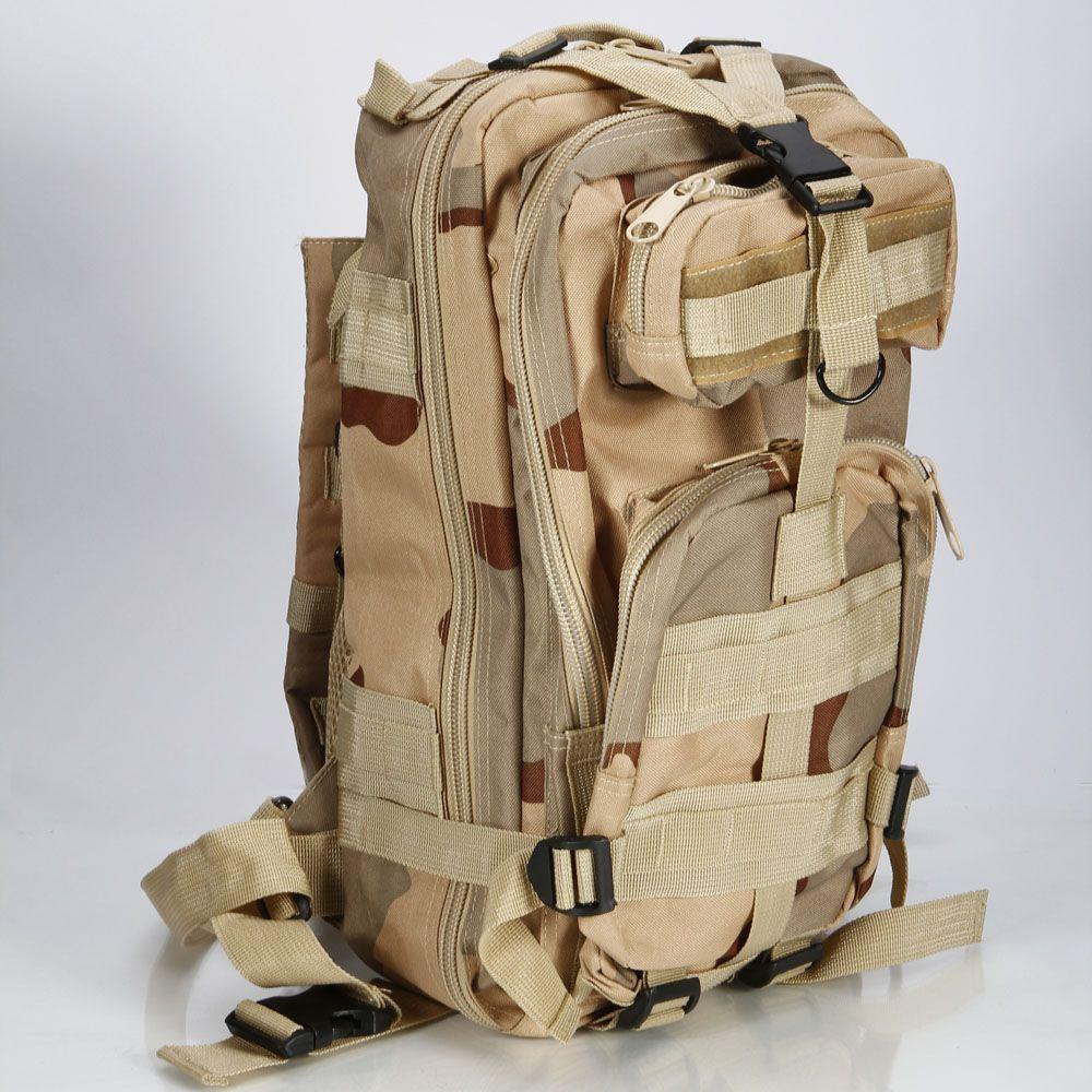 $16.99 Outdoor Military Tactical Backpack Rucksacks Sports Camping Travel Hiking Bags