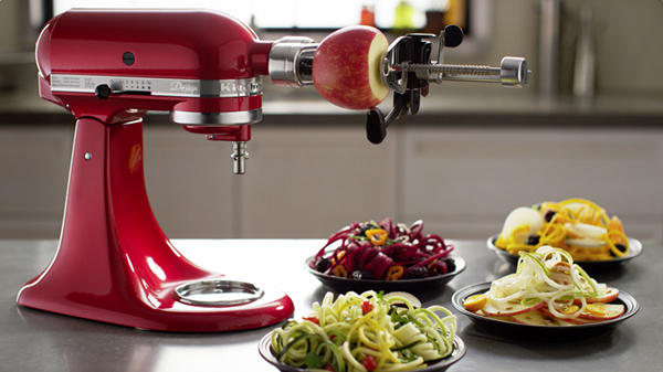 $65.88 KitchenAid KSM1APC Spiralizer Attachment with Peel, Core and Slice