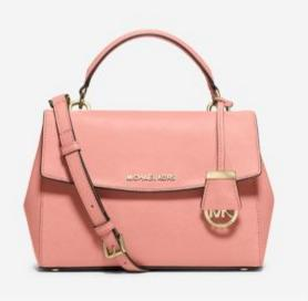 MICHAEL Michael Kors Ava Small Top Handle Satchel, Pale Pink