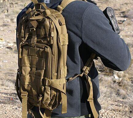 $17.89 Outdoor Military Tactical Backpack Rucksacks Sports Camping Travel Hiking Bags