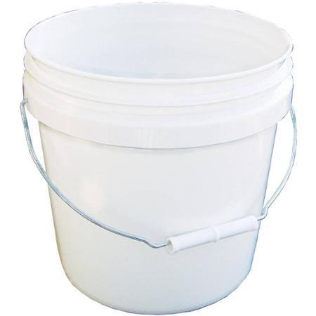 Encore Plastics 2-Gallon Pail, White