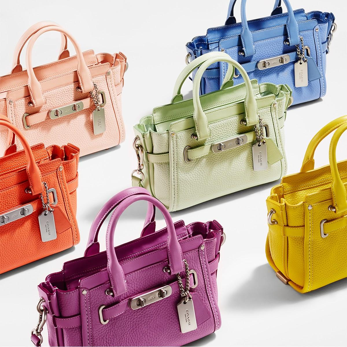 Up to 40% Off Select Swagger Handbags @ Coach