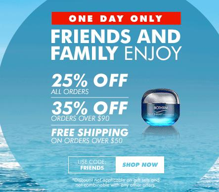 Up to 35% Off Your Order + FREE Shipping on orders $50+ @Biotherm