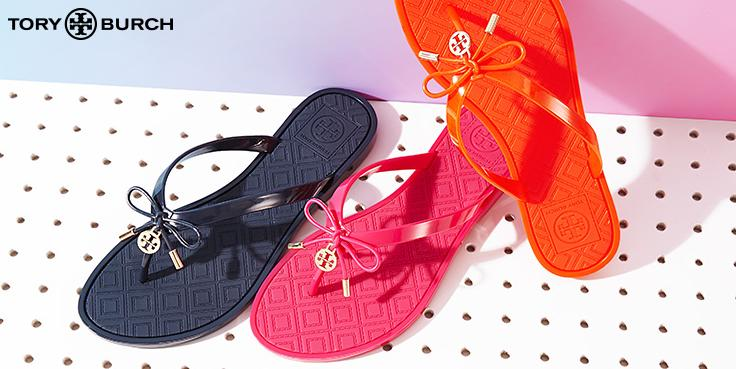 Up to 30% Off + Extra 20% Off Tory Burch Shoes Sale @ Bloomingdales