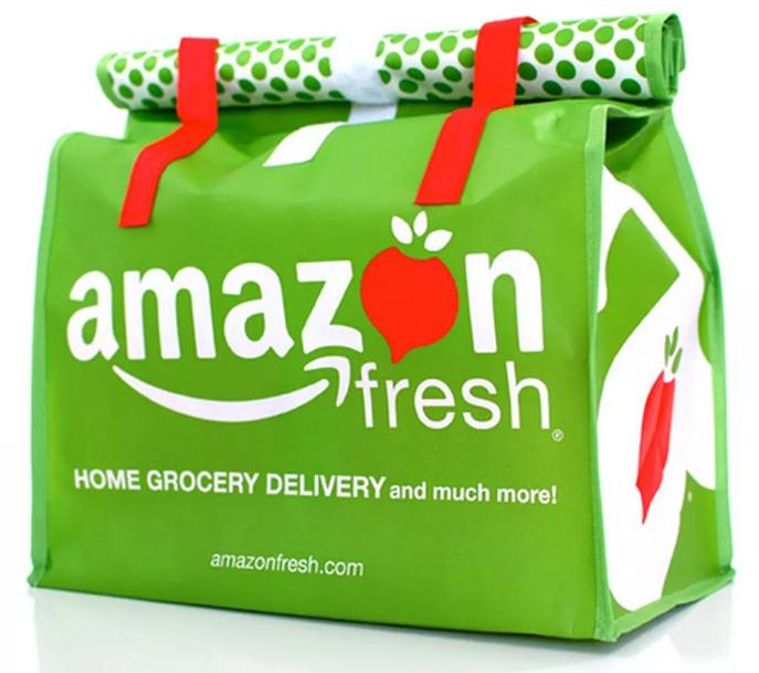 $25 off of first order Amazon Fresh Trial