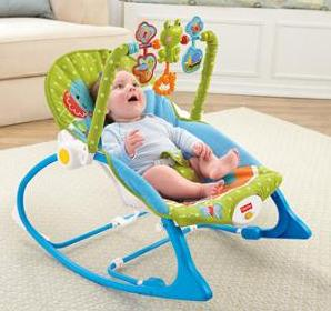$24.88 Fisher-Price Infant-to-Toddler Rocker, Elephant Friends