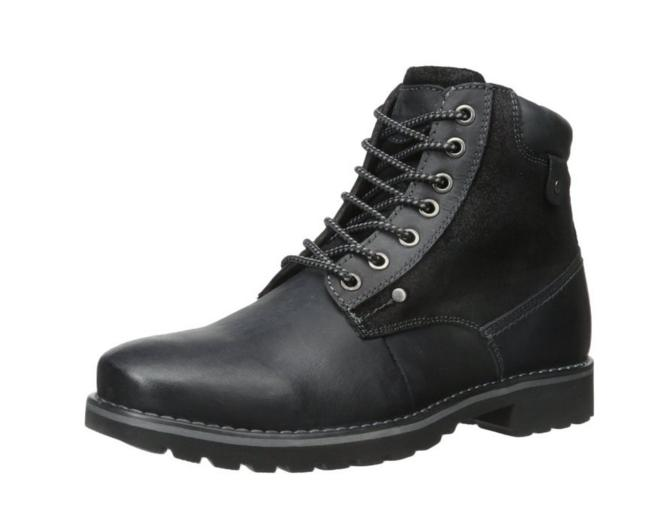 $16.02 Steve Madden Men's Canterr Winter Boot, Black