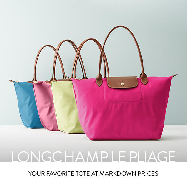 Up to 30% Off+Extra 25% Off Select Longchamp Handbags @ Neiman Marcus