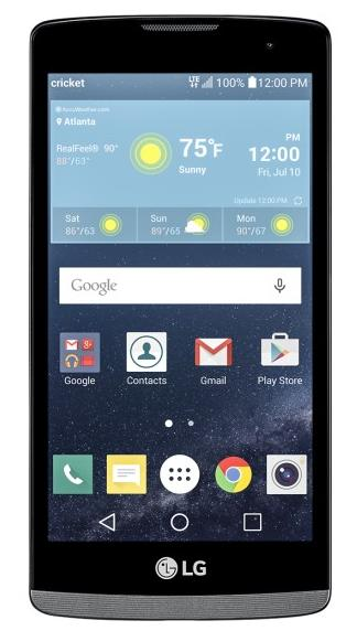 $44.99 Cricket Wireless LG Risio 4G 8GB Prepaid Cell Phone + $25 BestBuy GC + $25 Refill Card