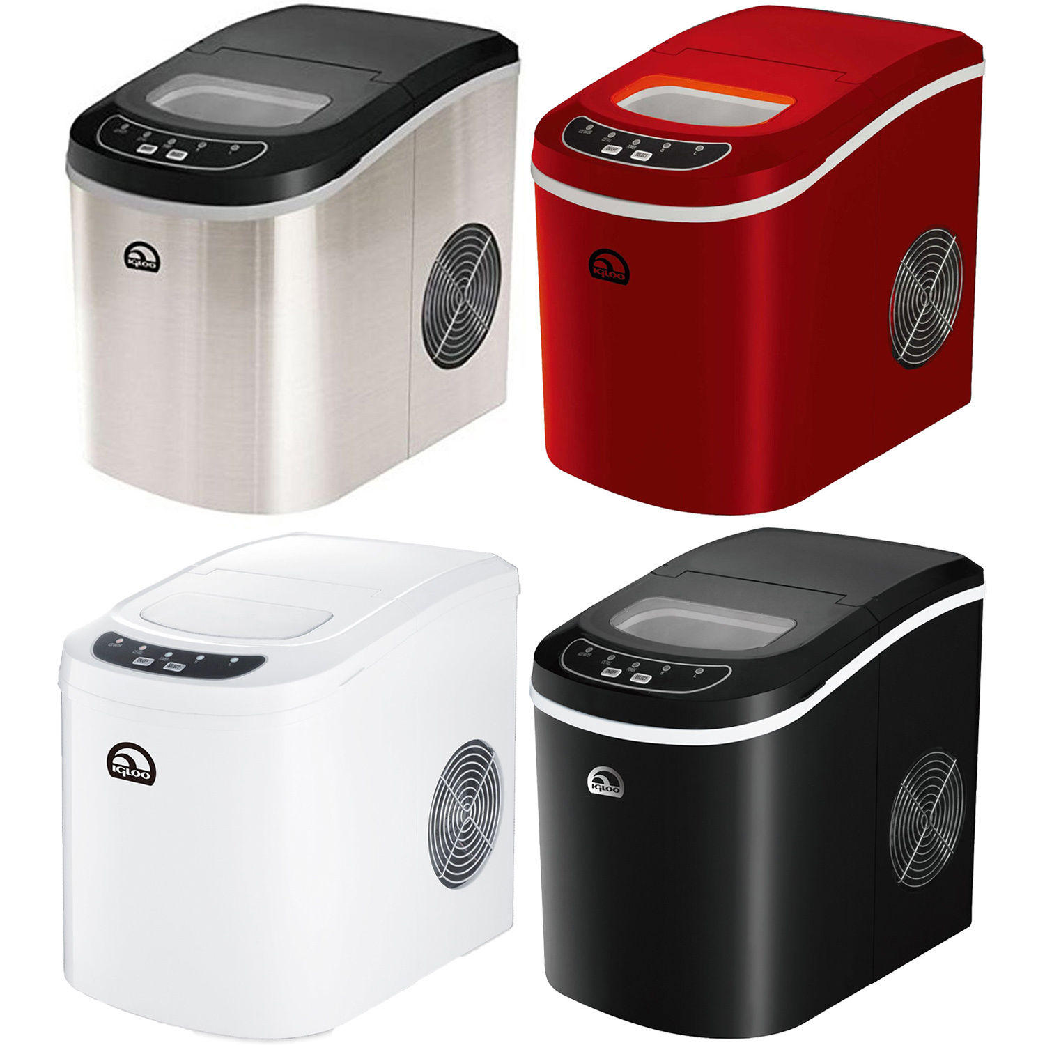 Igloo Compact Countertop Ice Maker