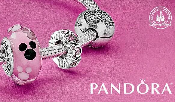 From $37 Select PANDORA Sale @ disneystore