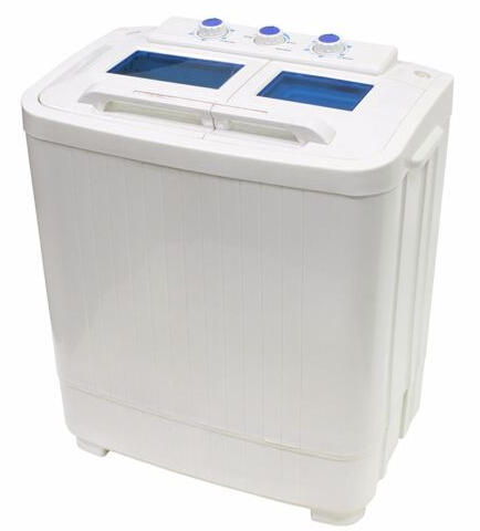 Stainles Steel Washing Machines 12LBS (Spin Dryer & Washer)