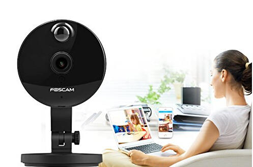 $49.99 Foscam C1 Indoor HD 720P Wireless IP Camera with Night Vision Up to 26ft