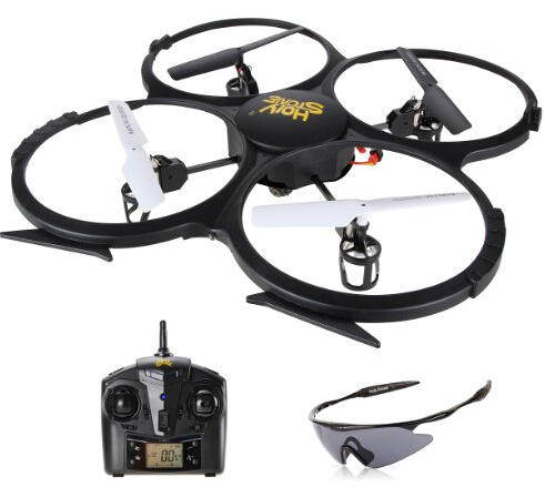 $55.99 Holy Stone U818A  HD Camera 4 Chanel 6-Axis Gyro Quadcopter