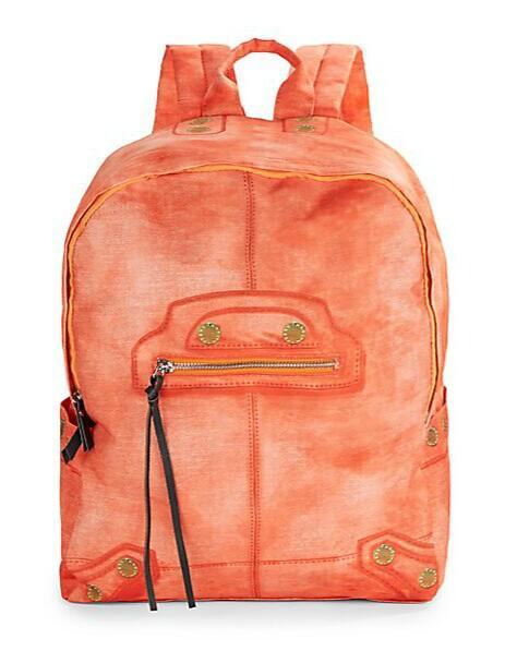 From $19.99 Steve Madden Faux Leather-Trimmed Backpack @ Saks Off 5th