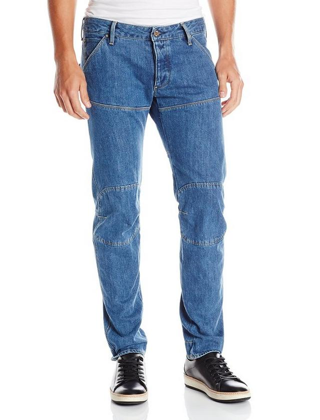 G-Star Raw Men's 5620 Bike 3D Low Tapered Fit Jean
