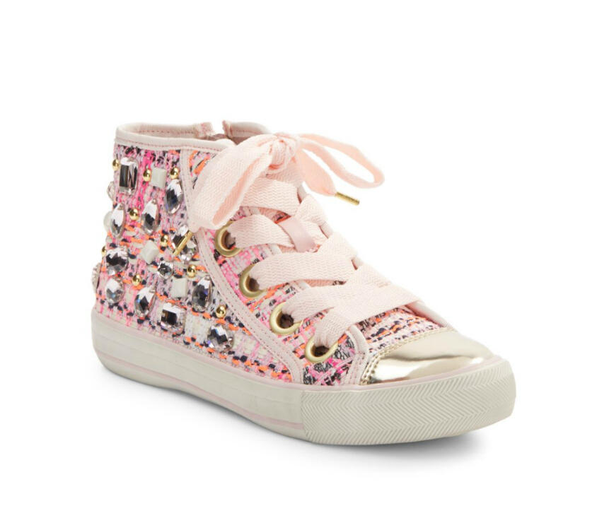 Ash Vanessa Embellished High-Top Sneakers