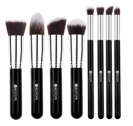 BESTOPE Makeup Brushes Premium Cosmetics Brush Set