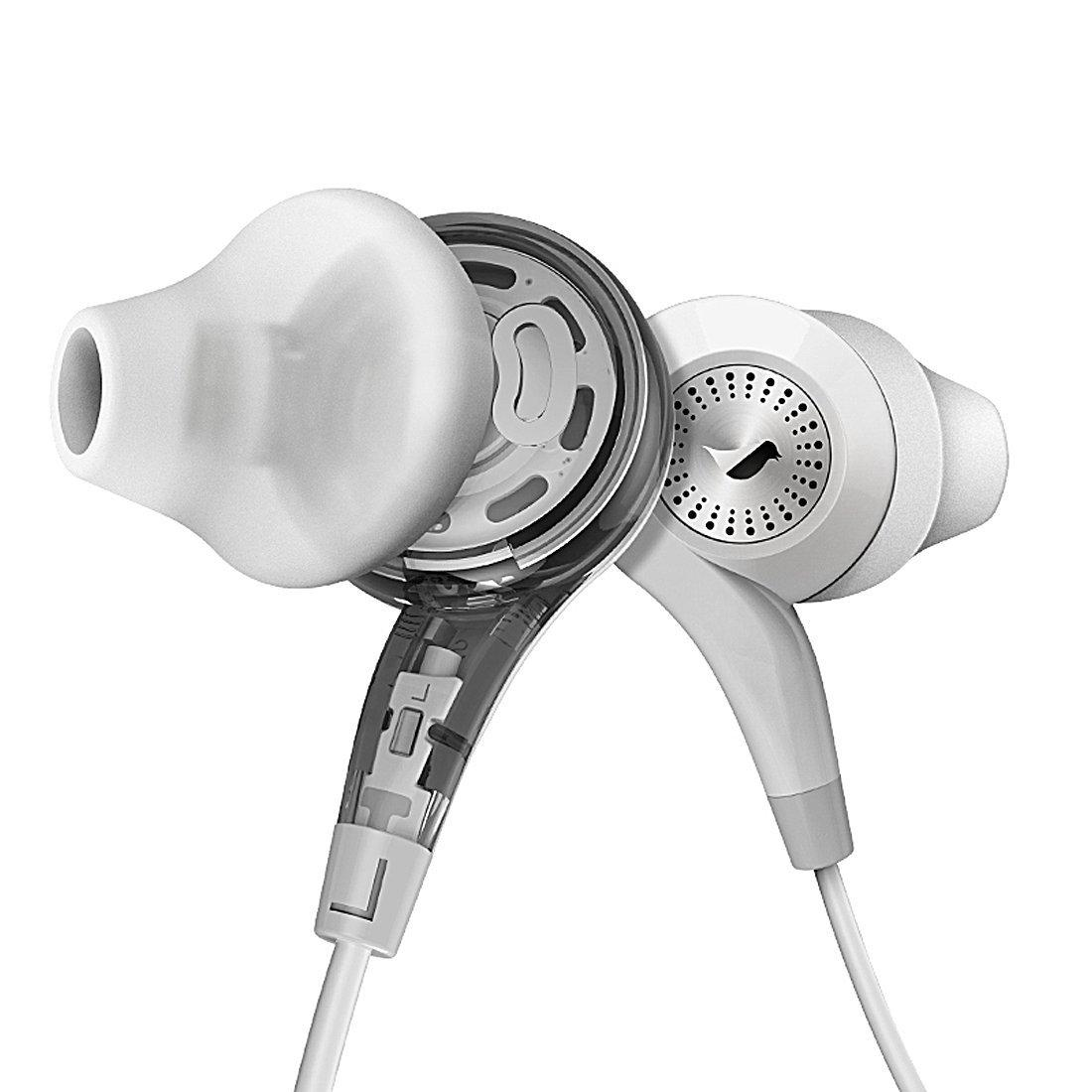 GranVela Conch In-ear Headphones with Mic and Volume Control