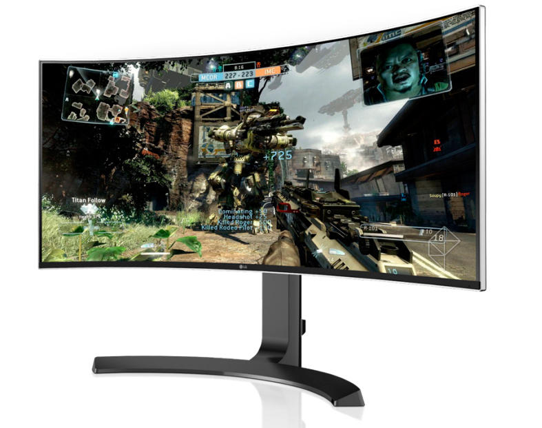 "$724.99 Free Shipping LG 34"" Class 21:9 Curved UltraWide IPS WQHD LED Monitor"