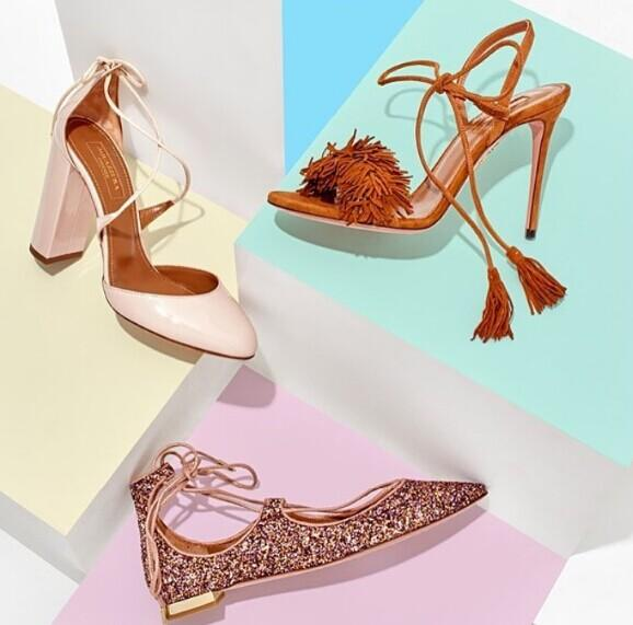 Up to 70% Off AQUAZZURA Shoes On Sale @ Net-A-Porter