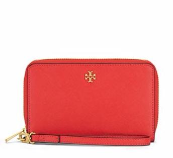 ROBINSON ZIP-AROUND SMARTPHONE WRISTLET @ Tory Burch
