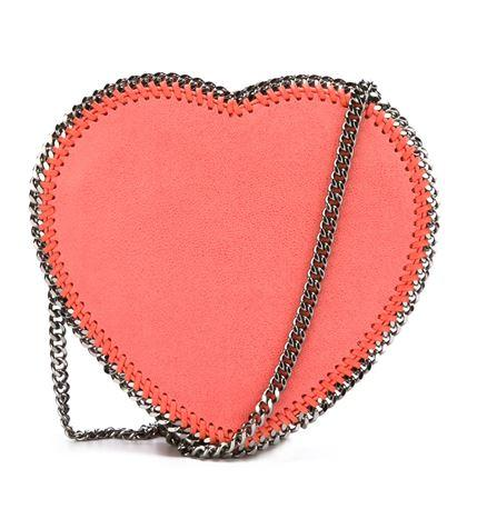 STELLA MCCARTNEY  'Falabella' heart crossbody bag On Sale @ Farfetch