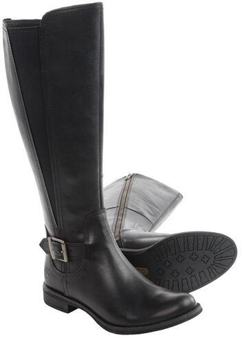 Timberland Savin Hill Tall Leather Boots For Women
