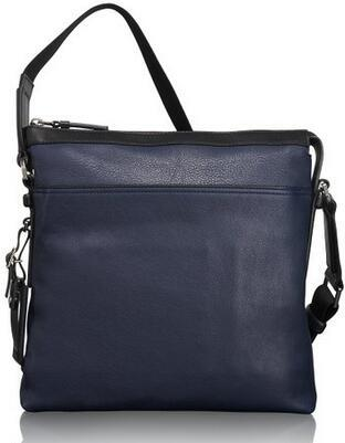 Tumi Mission Bartlett Leather Crossbody
