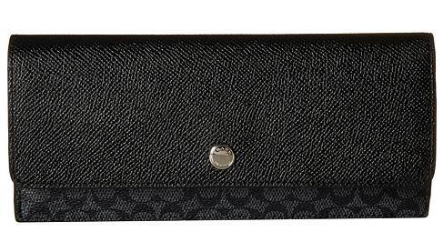 COACH Signature Soft Wallet