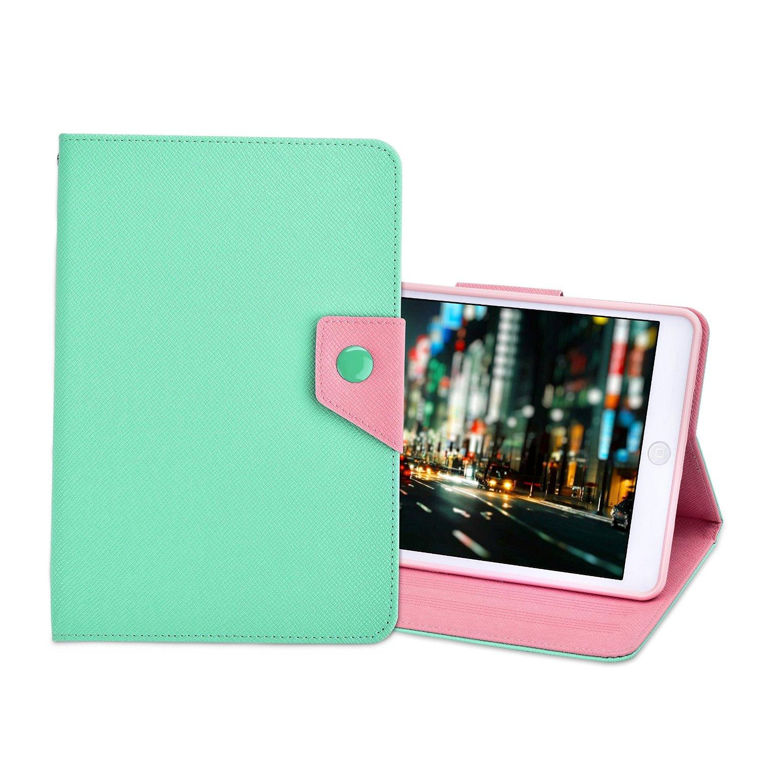 Kinps for iPad Mini 1/2/3 Multicolor Smart Case Cover