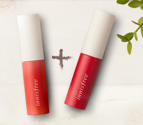 Buy 1 Get 1 Free Lip Tint @ Innisfree