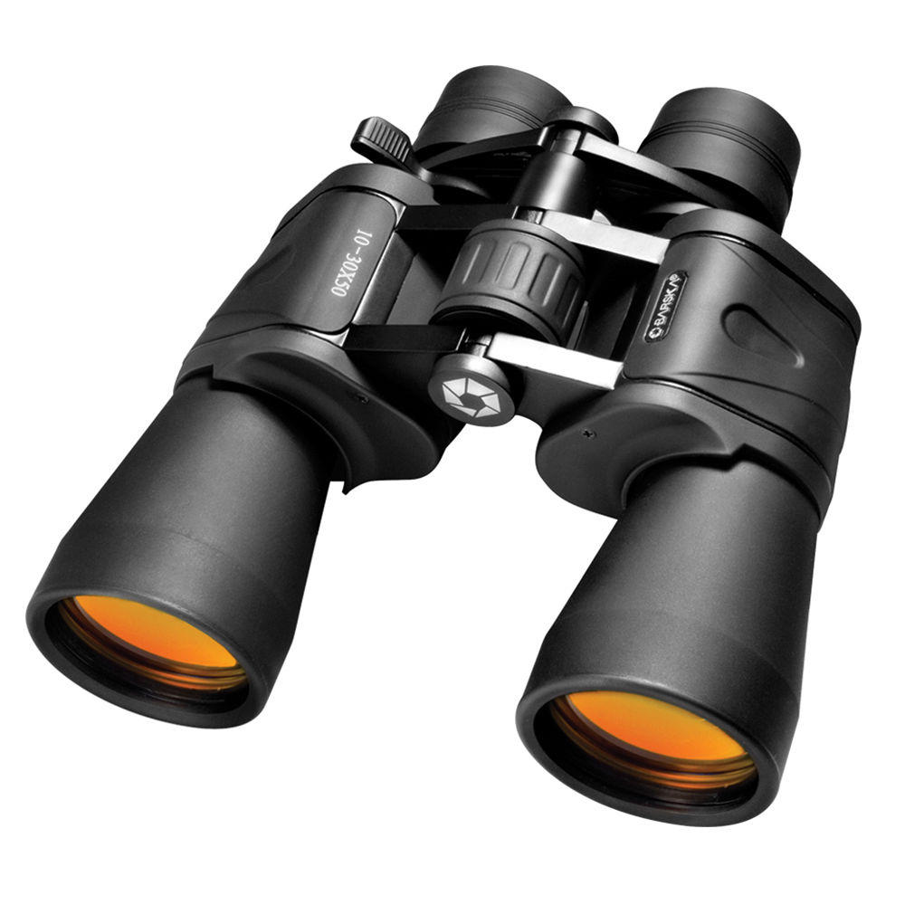 Barska High Power Zoom Binoculars,10-30X50 Zoom AB10168, w/ Carry Case & Strap