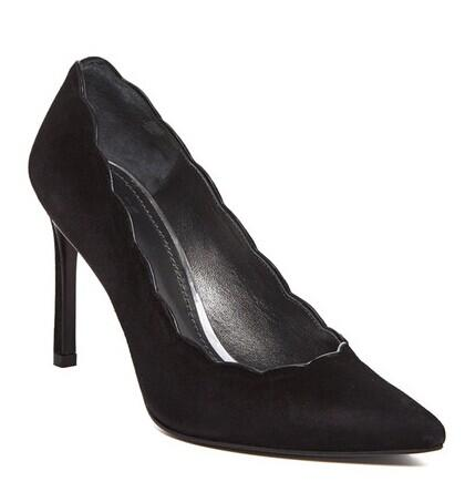 Stuart Weitzman Scallop Pointed Toe Pump @ Nordstrom Rack