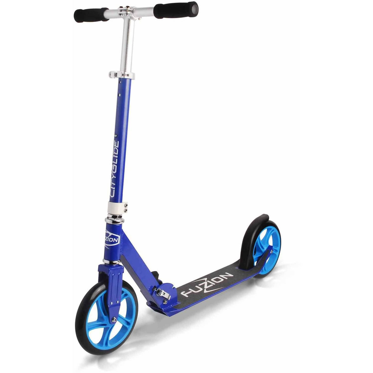 Fuzion CityGlide Cruising Scooter, Blue
